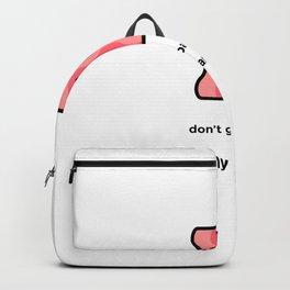 JUST A PUNNY BACON JOKE! Backpack