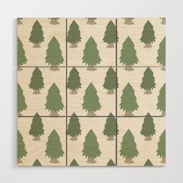 Cut your own Christmas tree (Patterns Please) Wood Wall Art