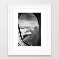 plane Framed Art Prints featuring Plane by Laheff
