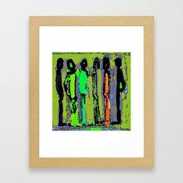 Chatting Framed Art Print