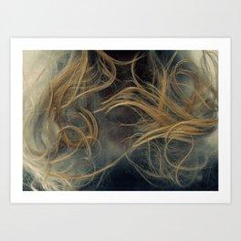 face scan. Art Print