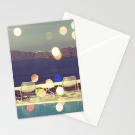 Santorini Sun Stationery Cards