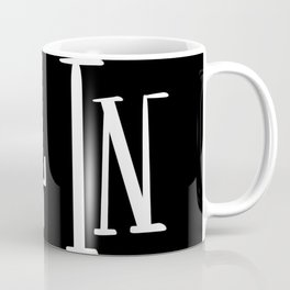 All In: black Coffee Mug