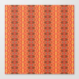 Autumn Leaves Close Up patterned Canvas Print
