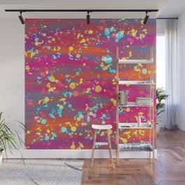Splatter paint 5 Wall Mural