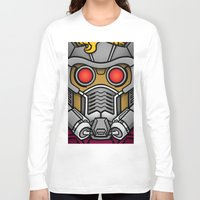 star lord Long Sleeve T-shirts featuring Star Lord by Ryan the Foe