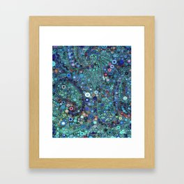 :: Ocean Fabric :: Framed Art Print