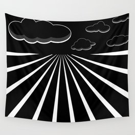 Dark Sky on the Horizon Wall Tapestry