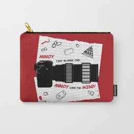 Annoy Tiny Blonde One...  Carry-All Pouch