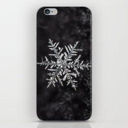 January Snowfake #5 iPhone Skin