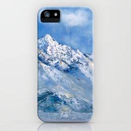 Himalayas. mountain landscape iPhone Case