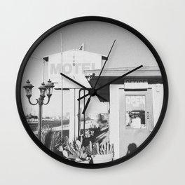 MOTEL / Joshua Tree, CA Wall Clock