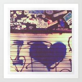 i love Art Print