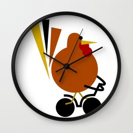 The Great Escape: By Land Wall Clock