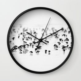 Dunlin II Wall Clock