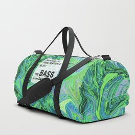 Reasons to Love Festivals | No. 03 | THE BASS IN THE DANCE TENT Duffle Bag