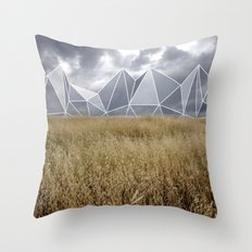 Landscape Geometry Throw Pillow