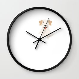 Love Labrador Retriever Wall Clock