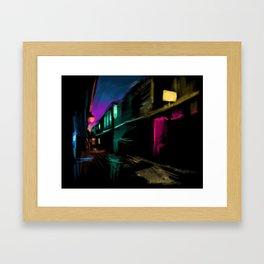 Light Stores Framed Art Print