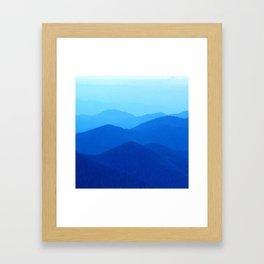 Hunter Mountain Spring Framed Art Print