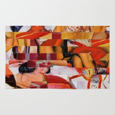 Spooning de Kooning (Provenance Series) Rug