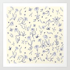 Flowers #5 Art Print