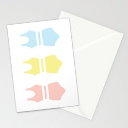 Bathing Suit Stationery Cards