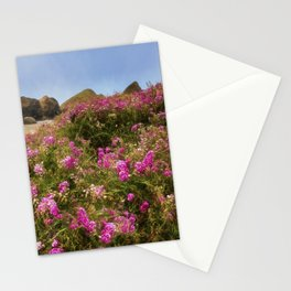 Flowers on the Beach Stationery Cards