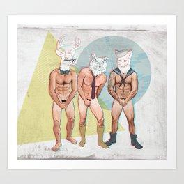 Shy Guy V2 Art Print