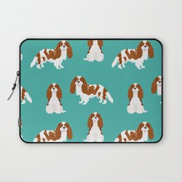 Cavalier King Charles Spaniel blenheim coat dog breed spaniels pet lover gifts Laptop Sleeve