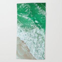 Emerald Sea Beach Towel