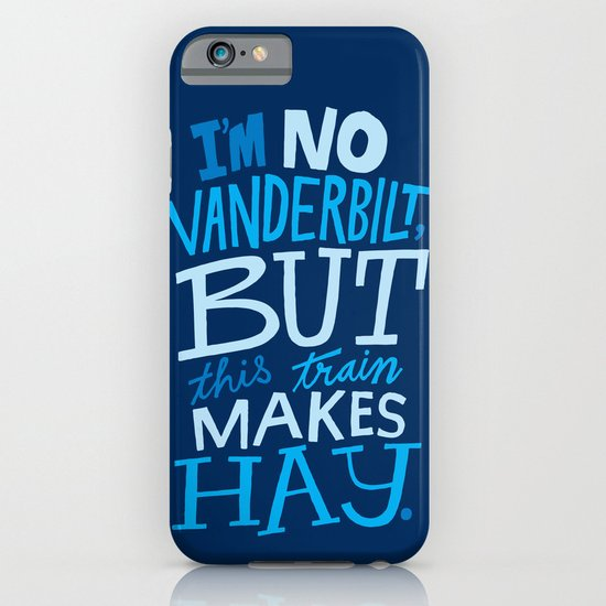 Train Makes Hay iPhone & iPod Case