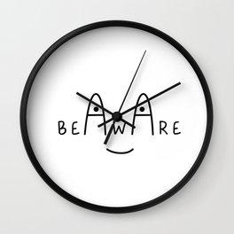 Be Aware Wall Clock