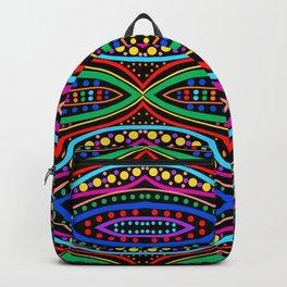Ancient Tribal Celebration (black) Backpack