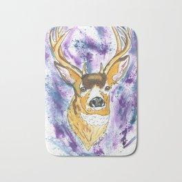 Winter Buck Bath Mat