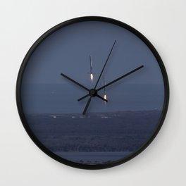 1063. SpaceX Falcon Heavy Demo Flight - Landing Wall Clock