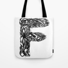 The Illustrated F Tote Bag