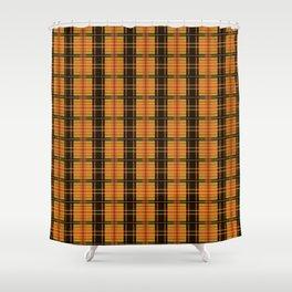 Love Plaid: Halloween Shower Curtain