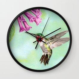 Flight Of Fancy Wall Clock