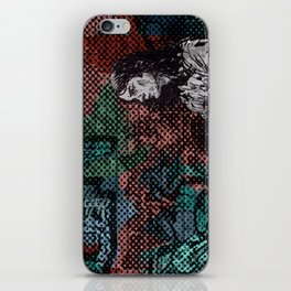 """Wakin' on a Pretty Daze"" by Matthew Vidalis iPhone Skin"
