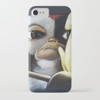 gizmo iPhone & iPod Cases featuring Gizmo Rambo by John McGlynn