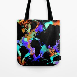 Globe trotter Tote Bag