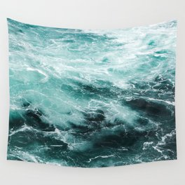 Water Photography | Sea | Ocean | Pattern | Abstract | Digital | Turquoise Wall Tapestry