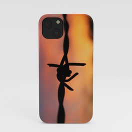 Barbed Silhouette iPhone Case