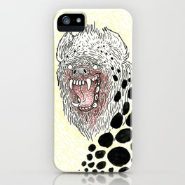 Monstrous and Free iPhone Case