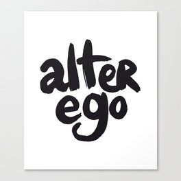 Alter Ego #1 Canvas Print