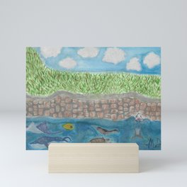 Seascape Mini Art Print