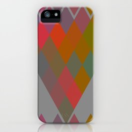 """""""Colorful Rhombus pattern"""" iPhone Case"""