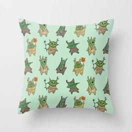 Koroks Throw Pillow