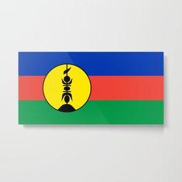 Unofficial Flag of Caledonia  Metal Print